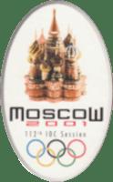 Logo Moscou 2001 session olympique