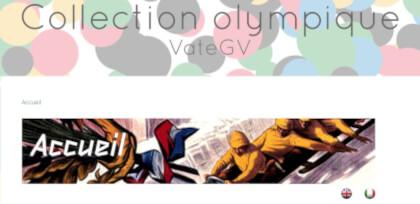 Olympic links VateGV website