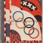 1928 Amsterdam programme olympique journalier, 31/07/1928 21 x 12,8 cm