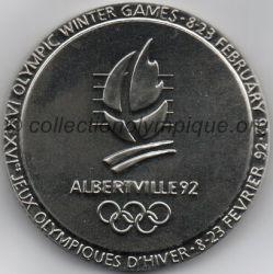 1992 Albertville médaille de participant, recto