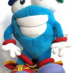 1996 Atlanta mascotte olympique, Whatizit, peluche hauteur 37 cm
