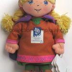 Kristin la princesse, peluche hauteur 19 cm mascotte olympique