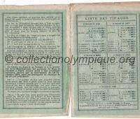 1900 Paris bon de 20 francs au porteur donnant droit à 20 billets pour l'exposition universelle n°035-05545 pages 2 et 3
