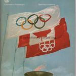 1976 Montreal olympic opening ceremony program