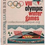 1960 Squaw Valley olympic opening ceremony program