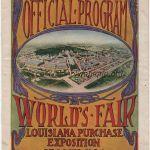 1904 Saint-Louis programme olympique journalier
