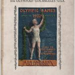 1932 Los Angeles olympic opening ceremony program