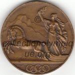 1928 St Moritz médaille olympique participant recto