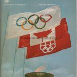 1976 Montreal olympic opening ceremony program