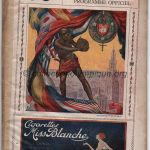 1920 Anvers programme olympique journalier