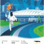 2010 Vancouver olympic ticket opening ceremony recto