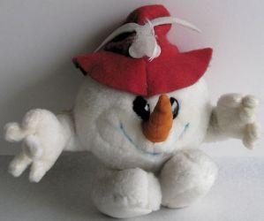 1976 Innsbruck olympic mascot, plush