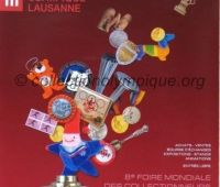 2002 Lausanne poster 8th World Olympic Collectors Fair small model
