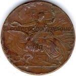 1896 athens olympic participant medal verso