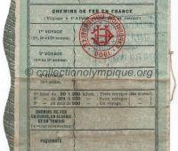 1900 Paris bon de 20 francs au porteur donnant droit à 20 billets pour l'exposition universelle n°035-05545 page 6