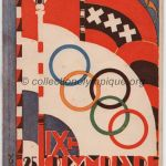 1928 Amsterdam olympic program closing ceremony