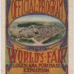 1904 St Louis Olympic daily program