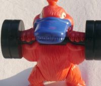 2000 Sydney Olympic mascot, Syd the platypus, weightlifting