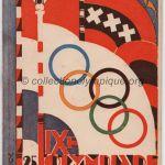 1928 Amsterdam olympic program closing ceremony