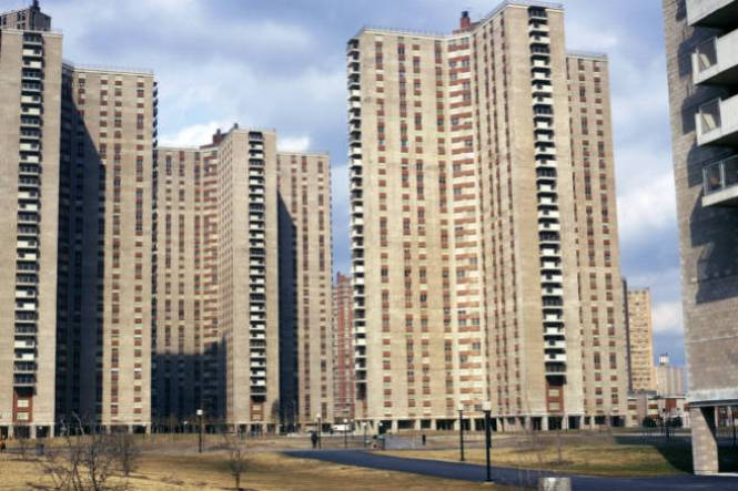 New York Bronx High Rise Apartment Buildings In Co Op City