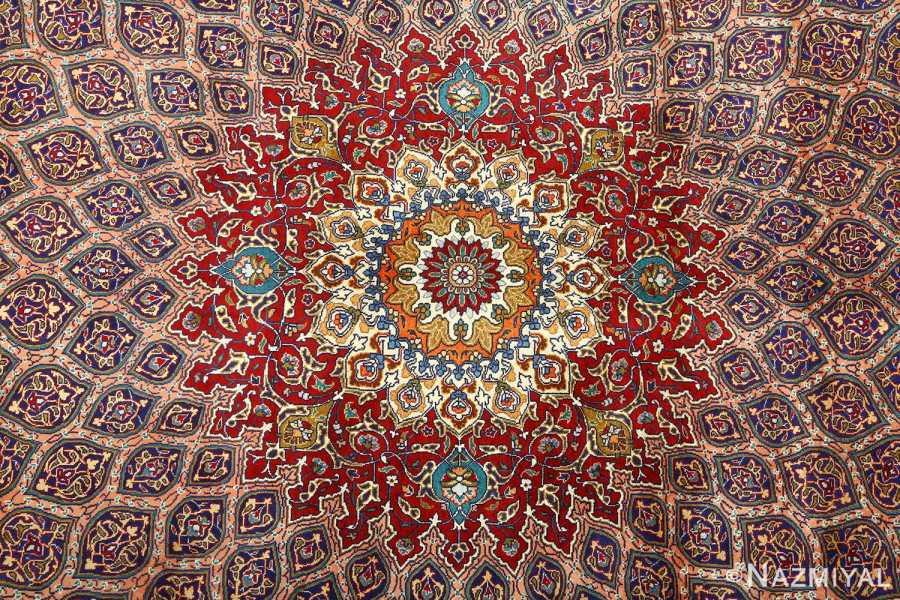 vintage-gonbad-design-tabriz-persian-rug-51088-medallion
