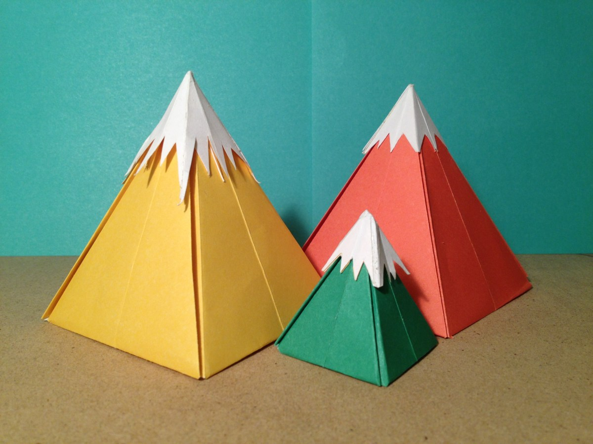 Learning Curve 9 Origami Mountains Collective Conscious Art