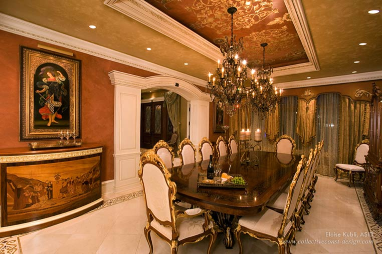 South Florida Interior Design A Grand Mansion Set