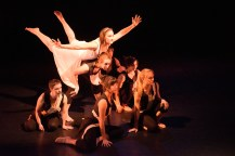 Baltimore, Maryland - April 05, 2016: Members of Baltimore based modern dance company The Collective perform pieces of their annual concert The Art of Movement at the Theatre Project in Baltimore, Md., Tuesday April 5, 2016. CREDIT: Matt Roth