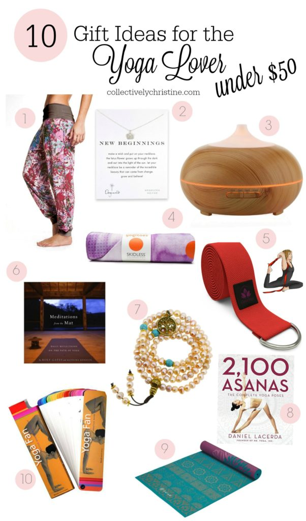 gift ideas yoga lover under $50