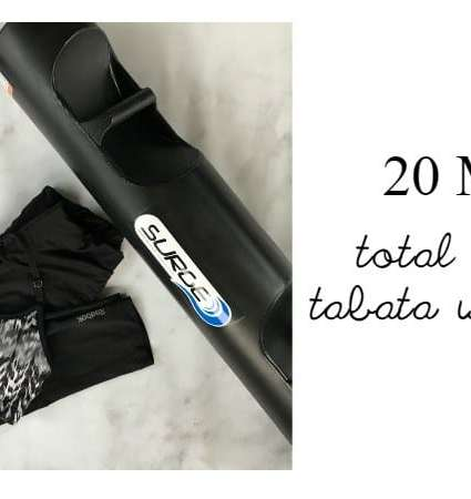 TOTAL BODY 20 MIN TABATA WORKOUT WITH HEADSTROM SURGE®