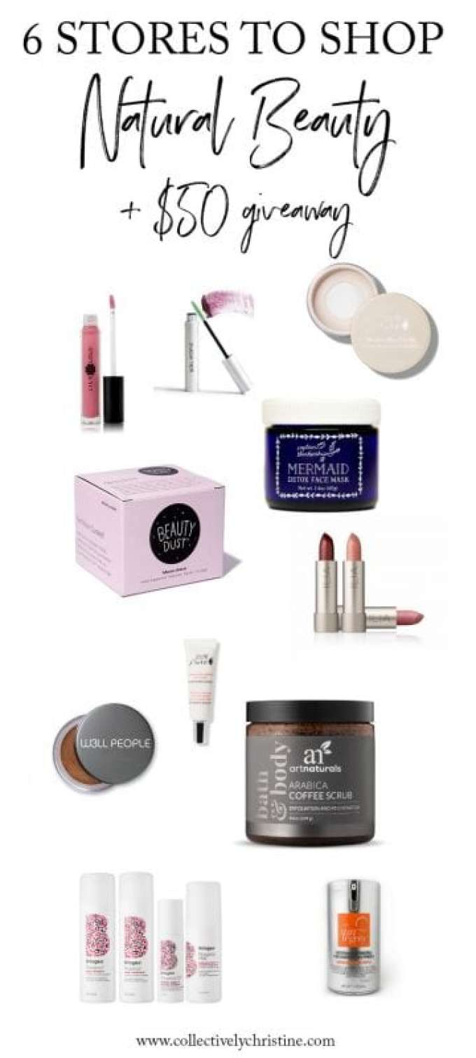 best stores to shop natural and non-toxic beauty products.