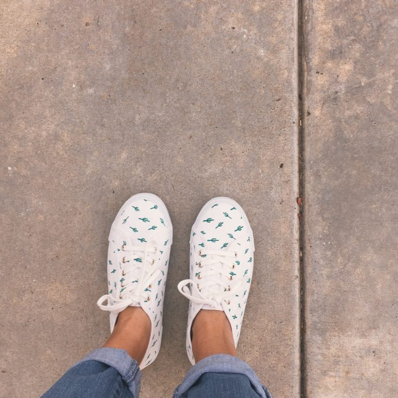 cactus tennis shoes sneakers