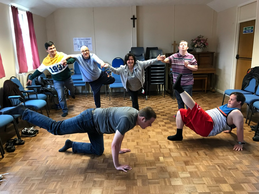 Group Dance Activities for Adults with Learning Disabilities / Additional Needs