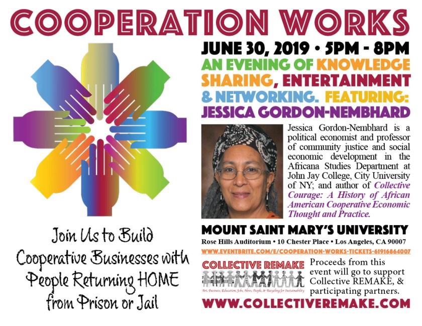 Cooperation WORKS June 30 Postcard