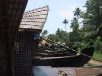 River life in Kerala, India