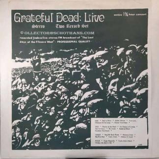 grateful dead: live