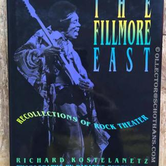 Fillmore east recollections
