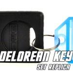 DeLorean Key Set Replica - Back to the Future