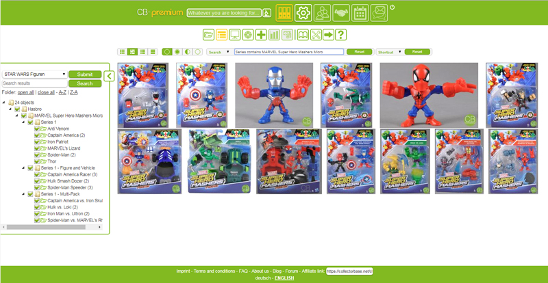 Object Overview - MARVEL SUPERHERO MASHERS MICRO