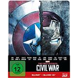 The First Avenger: Civil War – 3D+2D Steelbook Edition / Disney