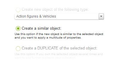 create a smilar object