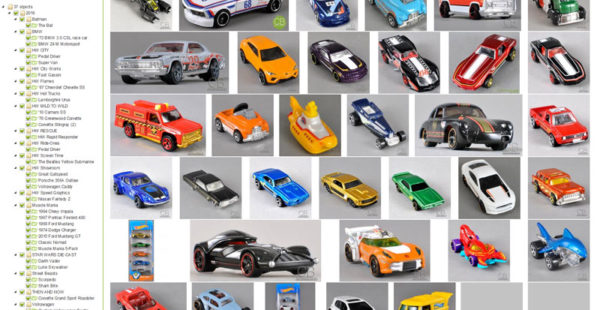 Object overview – car modells