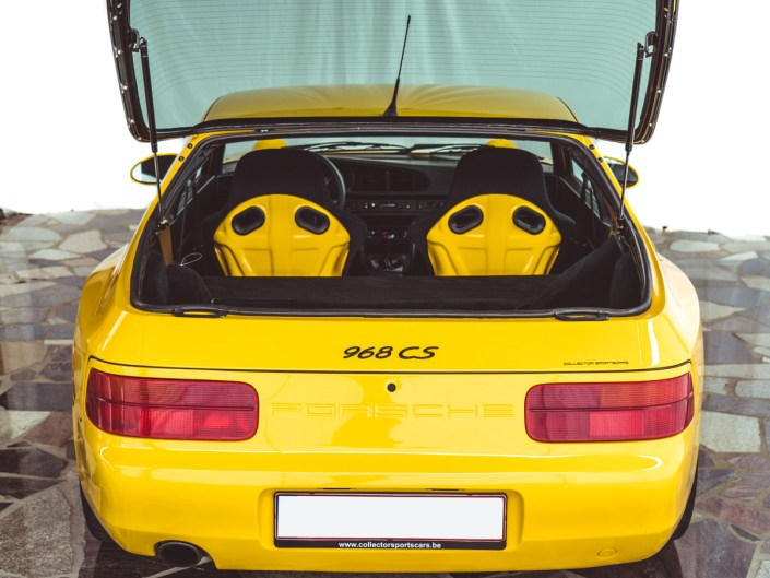 Porsche 968 club sport cs