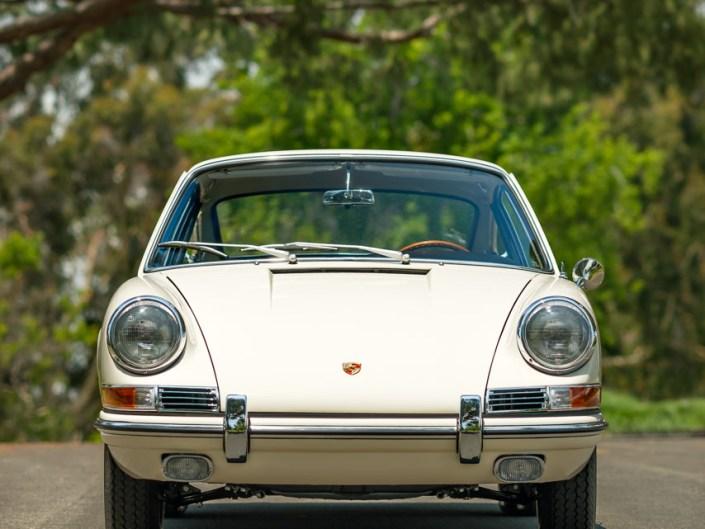 ivory porsche 911 1965 front