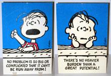 Linus Tent Card