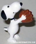 Snoopy Baseball Catcher Figure