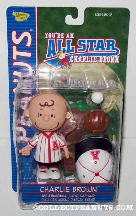 Charlie Brown All-Star Baseball Action Figure