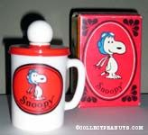 Snoopy Liquid Soap Toiletry Mugs