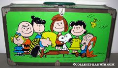 Peanuts Gang standing around piano Trunk