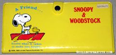 Snoopy & Woodstock rowing boat 'A Friend knows what it takes to make you happy' Wallet